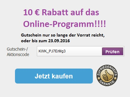 10€ BodyChange Gutschein