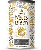 Neues Leben - Die Schwarze Kraftformel mit Aktivkohle, Matcha, Aloe Vera, Vitalpilzen und mehr - 600 Gramm Pulver (Kokos)
