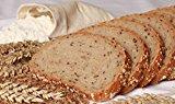 Nur 1,1g/100g Kohlenhydrate! Fitter ins Leben Paleo Low Carb Helles Körner Eiweißbrot Brotbackmischung - perfekt für die LowCarb-Diät - vegan - Eiweiß 33g/100g
