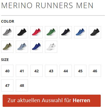 Giesswein Merino Runners Herren