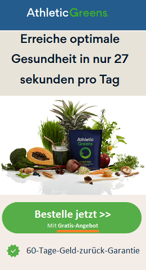 Athletic Greens Angebot