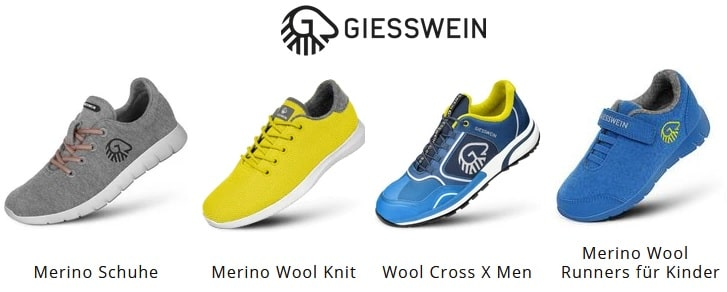 Alternative Giesswein Merino Schuhe