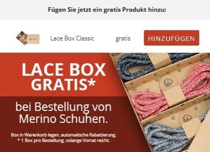 Giesswein gratis Lace Box