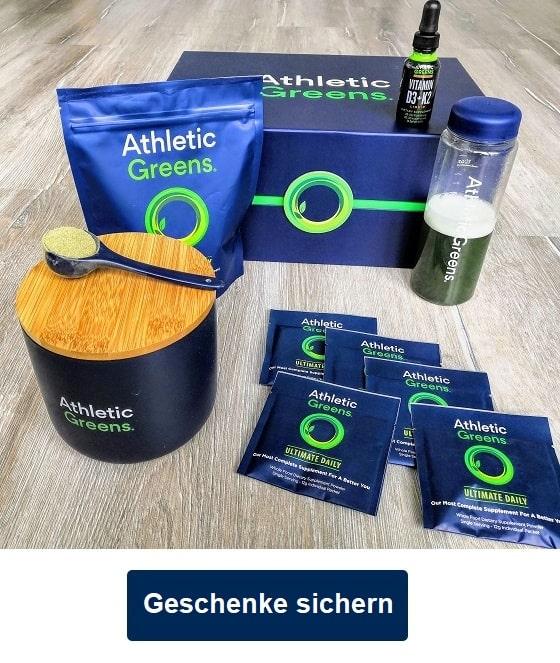 athletic greens angebot willkommens-geschenk