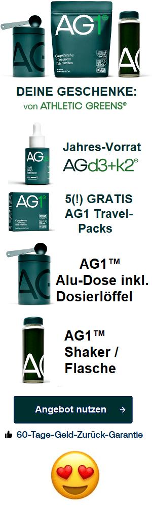 AG1 von Athletic Greens
